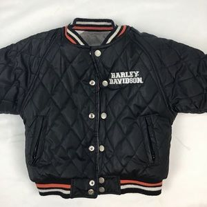 Harley Davidson snap up jacket